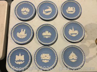 Wedgewood Christmas Plates 1976-1984