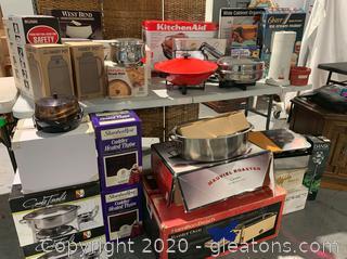 Variety of Kitchen Appliances