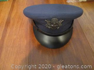 Air Force Officer's Hat (Dress Blues)