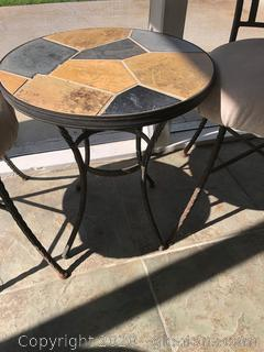 Small Side Table with 2 Chairs