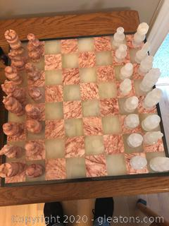 Chess and Backgammon Set