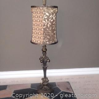 "28"" Table Lamp with Fabric Shade"