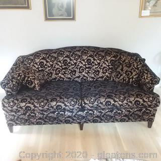 2 Cushion Camel Back Sofa B