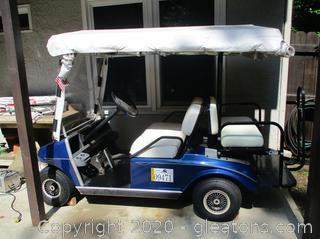 1999 Club Car Golf Cart with New Brakes