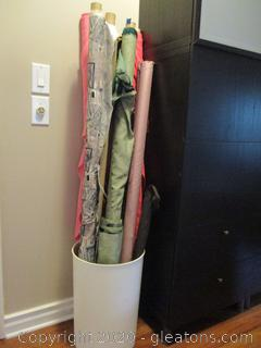 8 Rolls of Upholstery /Curtain Fabric