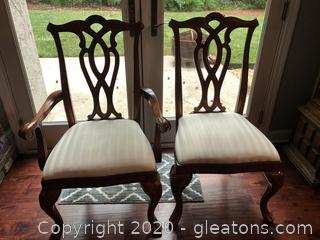 Cherry Grove Pierced Back Dining Chairs by American Drew