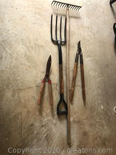 4-Piece Set Garden Tools