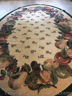 Mohawk Homes Large Oval Area Rug