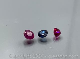 Rubies and Sapphire Loose Stones