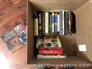 Mixed Book Lot for Adults