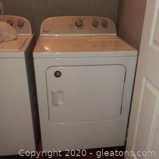 Whirlpool Model WED4815EWI Dryer