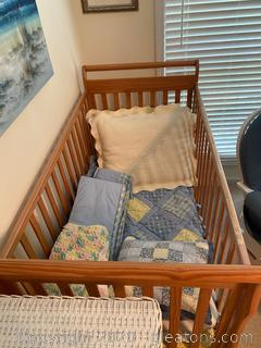 Vintage Kindercraft Crib & Baby Items