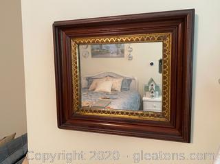 Small Rectangular Wall Mirror