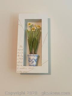 Daffodil Themed Wall Hanging