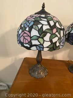 Tiffany Style Table Lamp (A)
