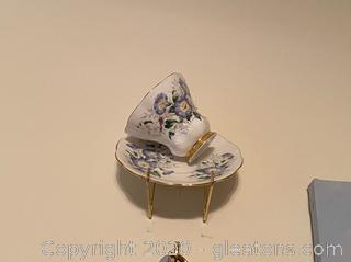 Royal Chelsea Bone China Tea Cup and Saucer