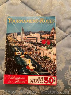 1959 Tournament of Roses Program