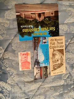 Old Son Juan Capistrono Travel Memorabilia