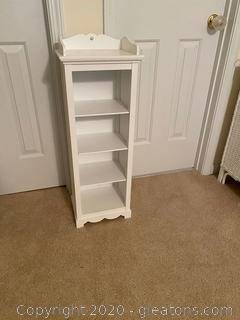 White Display Shelf