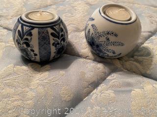 Centrum Ceramics Sphere Teu Light Candle Holders