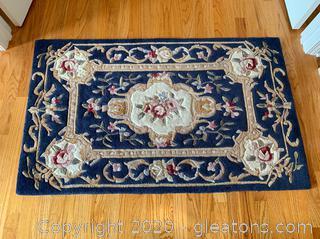 """(A) Royal Palace Handmade Rug """"Artistry"""""""