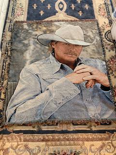 Alan Jackson Throw Blanket