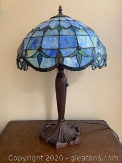 (A)Tiffany Reproduction Table Lamp