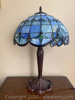 (B)Tiffany Reproduction Table Lamp