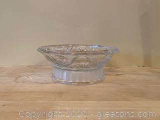 Gorham Fine Crystal Candy Dish