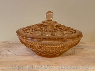 Federal Glass Candy Dish