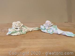 Fnesco Bouquet Figurines