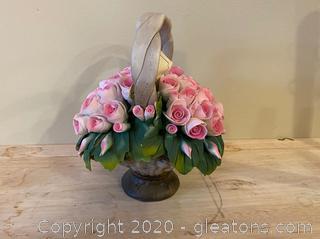 Capodimonte Porcelain Bouquet of Flowers