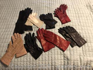 8 Pr. of Women's High Quality Gloves