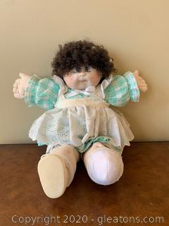 Vintage Porcelain Head Cabbage Patch Kid Doll