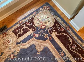 "Royal Palace Handmade Rug ""Heirloom Swanieer"""