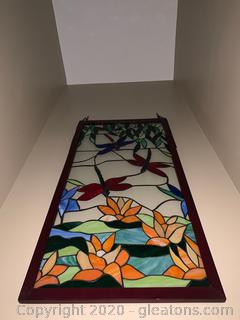 Tiffany Style Stained Glass Panel (A)