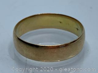 18K Heavy And Thick Ring