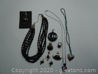 Beautiful Collection Of Black Onyx Jewelry