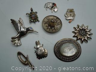 Sterling Pendant Collection