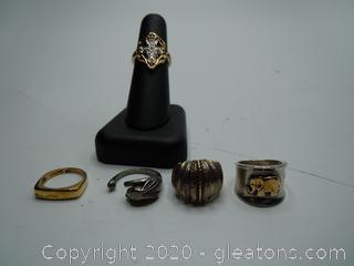 Sterling Silver Vintage Rings