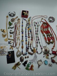 Collection Of Asian Jewelry