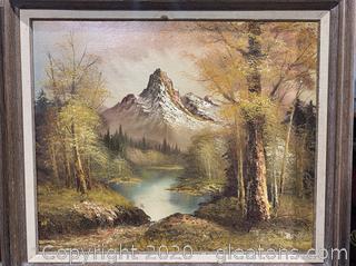 Antonio-Mountain Landscape Oil Painting