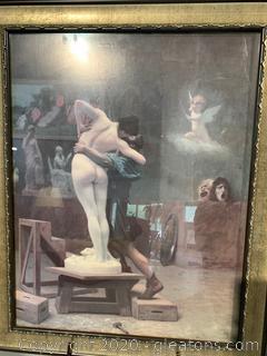 Jean-Leon Gerome- Pygmalion And Galatea