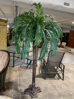 Iron – Like Potted Faux Tree
