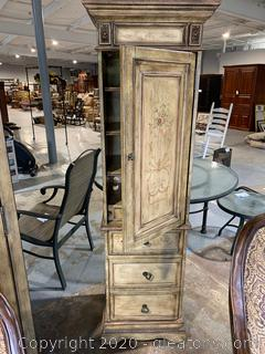 Vintage Style Tower Cabinet