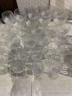Stuart Crystal Wine Glasses
