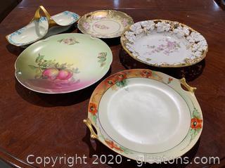Assortment Of German Porcelain