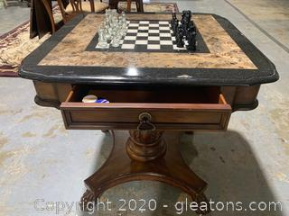 Powell Beacon Hill Cherry Game Table