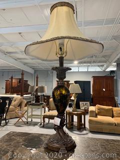Decorative Pedestal Table Lamp (B)