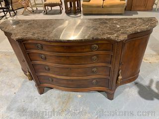 Century Furniture Marble Top Sideboard